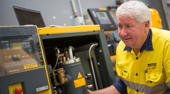 KAESER. KAESER Compressors, compressed air maintenance, compressed air systems